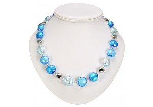 Antica Murrina Aqua Frida Murano Necklace