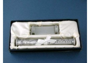 Birth Certificate Holder with Engraving