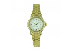 Adina Gold Plate Ladies Watch CM56 G1XB