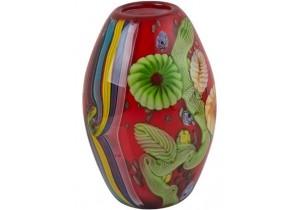 Beijing Coloured Glass Vase