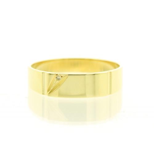 Mens Diamond Set Dress Ring IIII