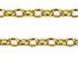 Oval Belcher Shield Padlock Bracelet 1