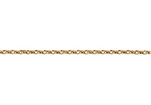 Oval Belcher Chain BOH in 9ct Yellow Gold