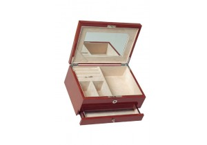 Burle Walnut Jewellery Box