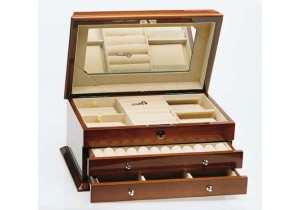 Walnut Jewellery Box