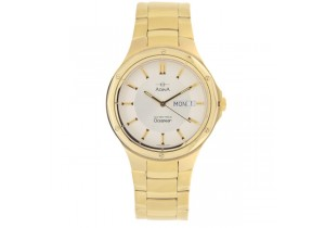Adina Gold Plate Mens Watch NK128 G1XB