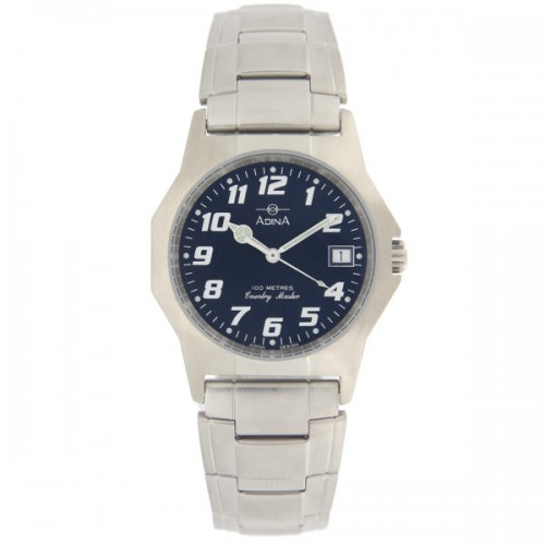 Adina Stainless Steel Mens Watch NK150 S6FB