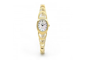 Adina Gold Plate Ladies Watch NK61 G0FB