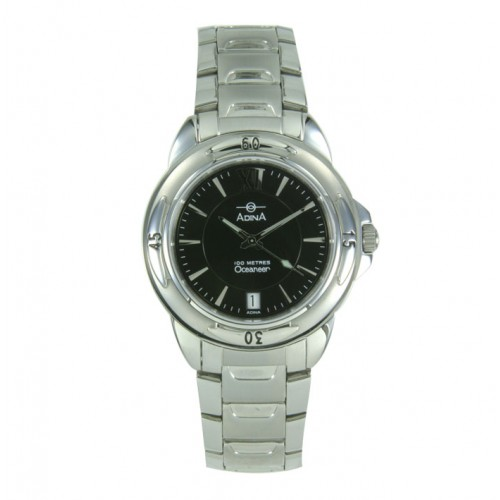 Adina Stainless Steel Mens Watch NK96 S2XB