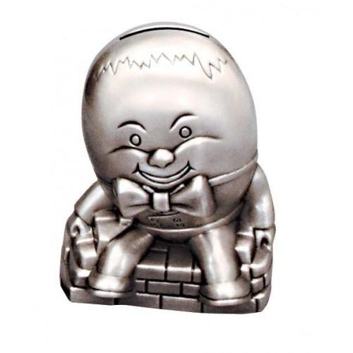 Pewter Humpty Dumpty Money Box