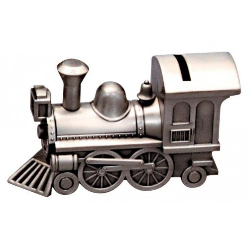 Pewter Train Money Box