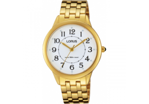 Lorus Gold Plate Ladies Watch RG212KX-9