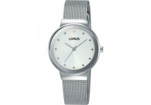 Lorus Stainless Steel Ladies Watch RG267JX-9