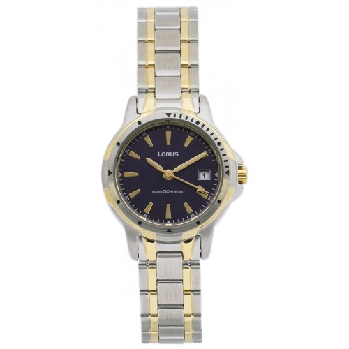 Lorus Two Tone Ladies Watch RH730AX-9