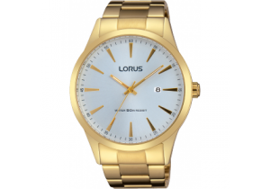 Lorus Gold Plate Mens Watch RH972FX-9