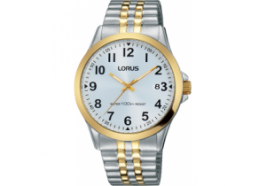 Lorus Gold Plate Mens Watch RS972CX-9