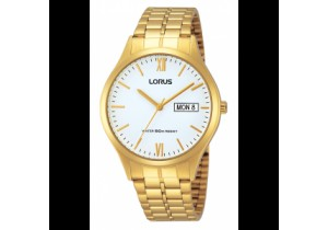 Lorus Gold Plate Mens Watch RXN02DX-9
