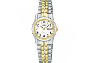 Lorus Two Tone Ladies Watch RXU11AX-9