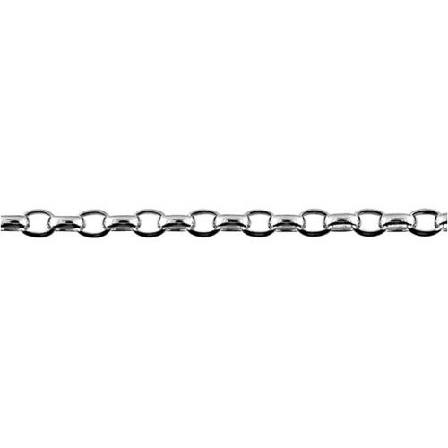 Sterling Silver Oval Belcher Chain BO2
