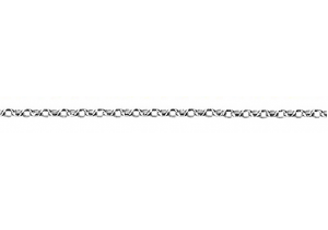 Sterling Silver Oval Belcher Chain BOH