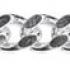 Sterling Silver Diamond Cut Curb Chain CD100