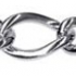 Sterling Silver Oval Figaro 1+1 Chain 81